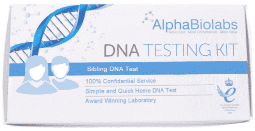 Sibling DNA test kit