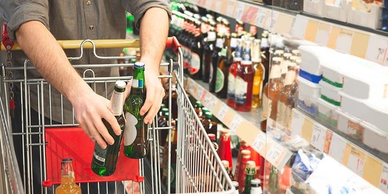 Alcohol sales soar as UK fears enforced isolation