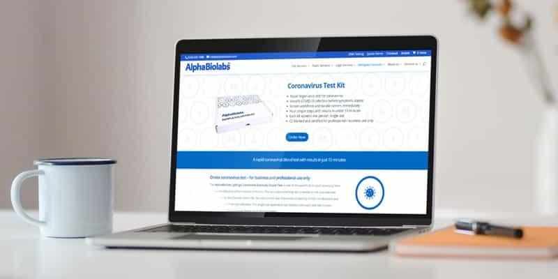 Beware scam coronavirus tests
