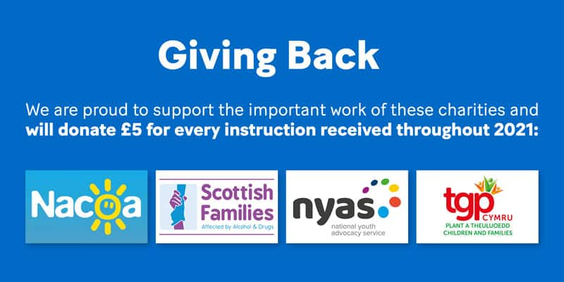 AlphaBiolabs are proud to launch our 2021 Giving Back campaign