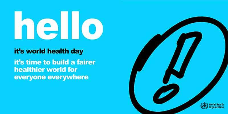 World Health Day – shining the spotlight on health inequality