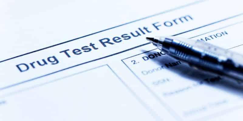 Drug testing for work