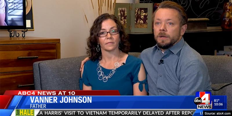 Family who took DNA test 'as a joke' find out that husband is not son's biological dad
